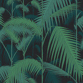 Cole & Son Palm Jungle Black Wallpaper