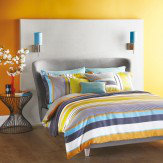Harlequin Bali Stripe Charcoal Double Duvet
