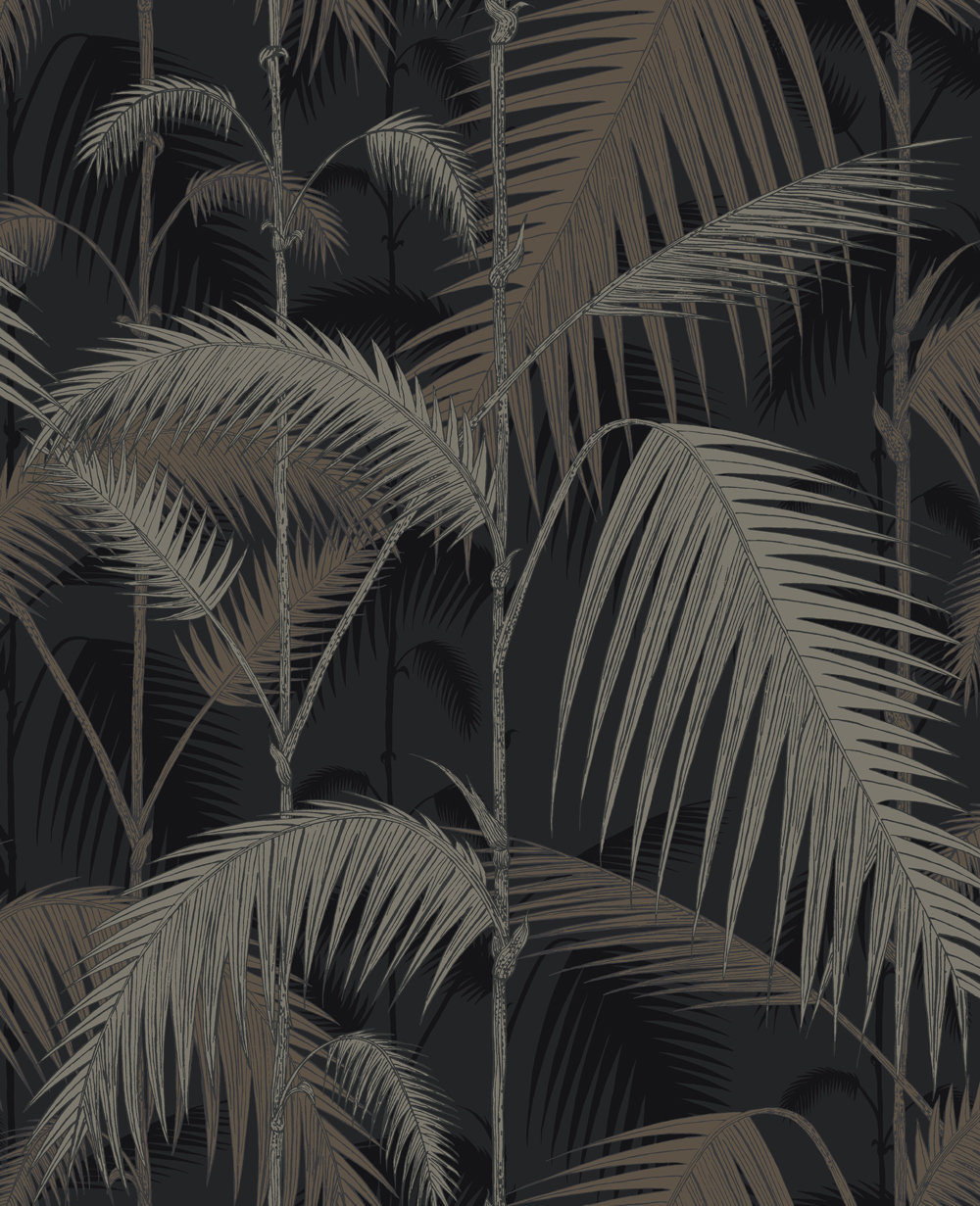 Cole & Son Palm Jungle Metallic Wallpaper main image