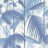 Cole & Son Palm Jungle China Blue Wallpaper