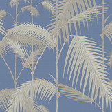Cole & Son Palm Jungle Blue Wallpaper - Product code: 95/1006