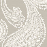 Cole & Son Rajapur Cloud Grey Wallpaper