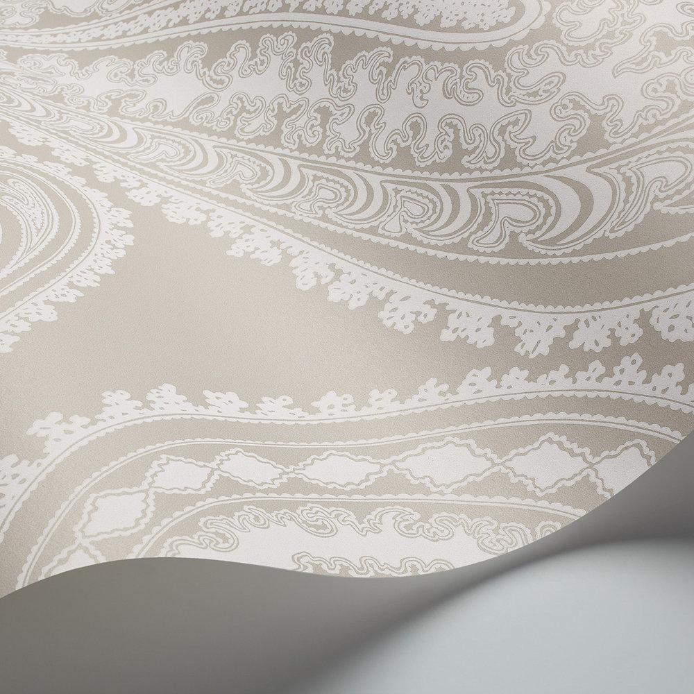 Rajapur Wallpaper - Cloud Grey - by Cole & Son