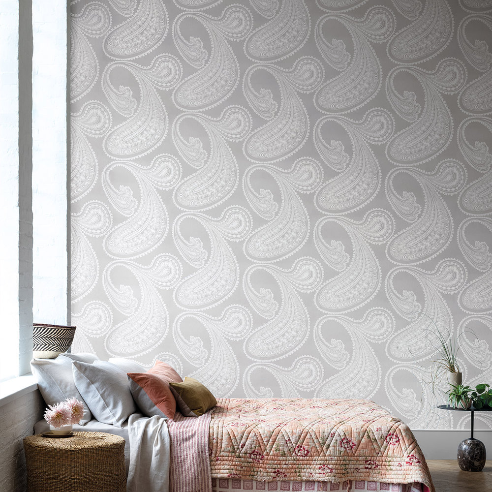 Cole & Son Rajapur Dove Grey Wallpaper - Product code: 95/2012