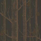 Cole & Son Woods and Pears Bronze & Black Wallpaper - Product code: 95/5028