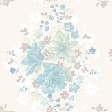Albany Teresa Pale Blue Wallpaper - Product code: 262116