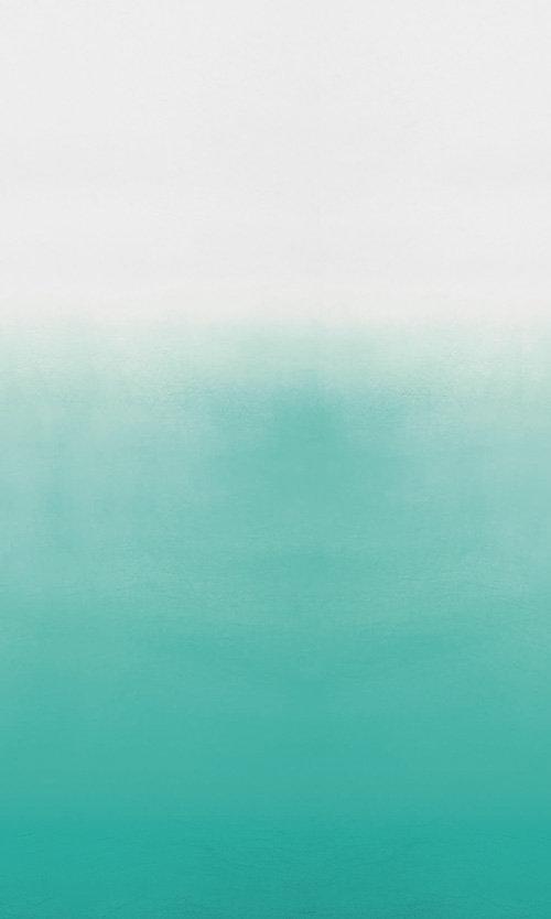 Saraille Mural - Aqua / White - by Designers Guild