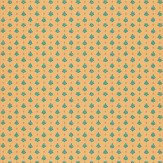 Sheila Coombes Yewdale Green / Orange Wallpaper