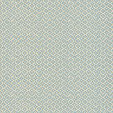 Sheila Coombes Rydale Blue / Cream Wallpaper