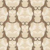 Thibaut Cheetah Orange Wallpaper
