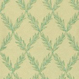 Sheila Coombes Pushkin Green Wallpaper