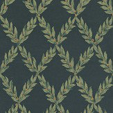 Sheila Coombes Pushkin Black / Yellow Wallpaper