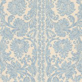 Sheila Coombes Gaskell Blue Wallpaper