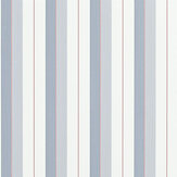 Ralph Lauren Aiden Stripe Navy, Red and White Wallpaper - Product code: PRL020/06