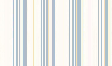 Ralph Lauren Aiden Stripe Blue / Yellow Wallpaper main image