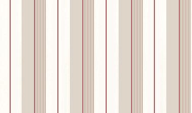 Ralph Lauren Aiden Stripe Beige / Red Wallpaper main image