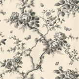 Ralph Lauren Ashfield Floral Black Wallpaper
