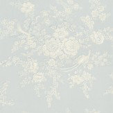 Ralph Lauren Vintage Dauphine Sky Blue / Cream Wallpaper