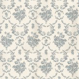 Ralph Lauren Saratoga Toile Blue / Cream Wallpaper