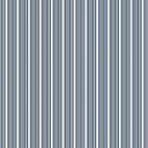 Ralph Lauren Laurelton Stripe Blue Wallpaper