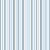 Ralph Lauren Pritchett Stripe Blue Wallpaper