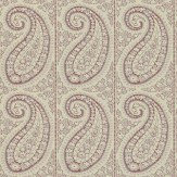 Sanderson Srinagar Purple / Beige Wallpaper - Product code: 212126