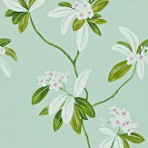Sanderson Oleander Blue / Green Wallpaper - Product code: 212129