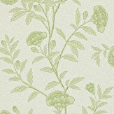 Sanderson Chinese Peony Olive Wallpaper