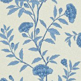 Sanderson Chinese Peony Blue Wallpaper
