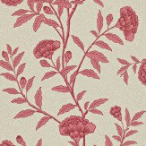 Sanderson Chinese Peony Red Wallpaper