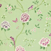 Sanderson Pavilion Green Wallpaper