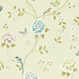 Sanderson Pavilion Cream Wallpaper - Product code: 212159