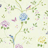 Sanderson Pavilion Cream / Multi Wallpaper - Product code: 212160