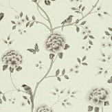 Sanderson Pavilion Black / Grey Wallpaper - Product code: 212161