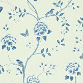 Sanderson Pavilion Blue Wallpaper - Product code: 212163