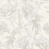 Clarke & Clarke Empress Rose Zinc Wallpaper main image
