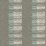 Osborne & Little Falize Silver / Duck Egg Wallpaper - Product code: W6431-02