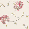 Nina Campbell Corsham Coral / Cream Wallpaper