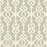 Sophie Conran Balustrade Opal Cream / Grey Wallpaper