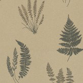 Carlucci di Chivasso Botanica Metallic Gold Wallpaper