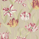Carlucci di Chivasso Tulipa Multi / Metallic Wallpaper
