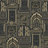 Sophie Conran Opening Doors Antique Gold Wallpaper