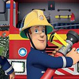 Walltastic Fireman Sam Mural Multi-coloured