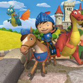 Walltastic Mike the Knight Mural Multi-coloured - Product code: Mike The Knight