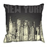 Digetex New York Poster Cushion