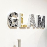 Arthouse Glam Wooden Block Art - Product code: 008145
