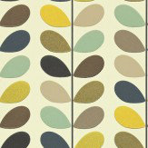 Orla Kiely Multi Stem Seagreen Wallpaper