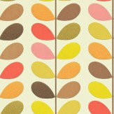 Orla Kiely Multi Stem Hibiscus Wallpaper