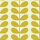 Orla Kiely Classic Stem Lime / Off White Wallpaper - Product code: 110388