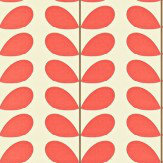Orla Kiely Classic Stem Red Wallpaper - Product code: 110389